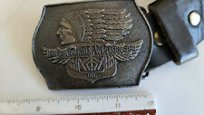 Transcontinental & Western Air Inc. Belt Buckle - WAE  Western Airlines WAL