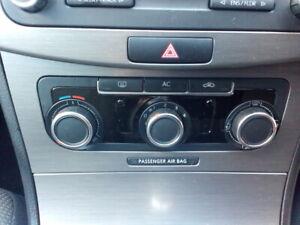 VOLKSWAGEN PASSAT 2011 BLUEMOTION HEATER CONTROL PANEL (AIR CON)