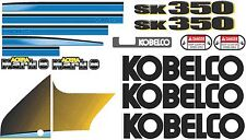 Kobelco SK350 Mark 8 Decal Kit- very high quality aftermarket decals