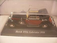 voiture 1/43 eme IXO ALTAYA Classics HORCH 853A Cabriolet 1938