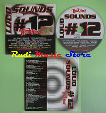 CD LOUD SOUNDS 12 compilation PROMO 2003 ARCH ENEMY KREATOR ENTOMBED (C24) no mc