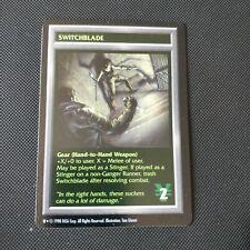 SWITCHBLADE | Shadowrun TCG | NM Rare | 1997 OOP CCG