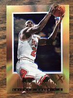 1996-97 Skybox E-X2000 #9 Michael Jordan Chicago Bulls HOF