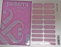 Jamberry * Jamberry Logo *  Nail Wrap ( Full Sheet ) New Collectible
