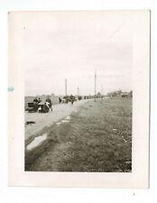 Foto 2. WK Flucht Bevölkerung von Lens Pas-de-Calais France Größe 5,5 x 6,8 cm