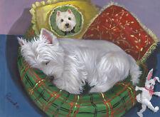 "Precious Pets Garden Flag - Westie Precious Toto 12"" x 18"" ~ Charity!"