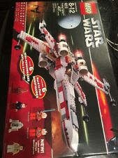 LEGO 6212 Star Wars X-Wing Fighter new Factory sealed 1 Seal Opening Wear On Box