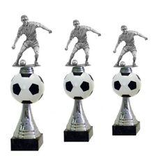 3er Pokalserie Fussball Silber (671) Höhe 39-35 cm inkl.Gravur 32,95 EUR