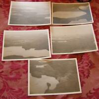 5 Vintage 1947 Vilas County Arial Photographs - 5x7 Inch Photos - Lakes