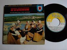 """GROUPE FOLKLORIQUE D'AVIGNON, Académie Provence EP 7"""" DUCRETET-THOMSON 450 V 436"""
