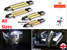 C5W C10W 31 36 39 41 43mm Interior Number Plate Festoon CANBUS COB LED BULB 12v