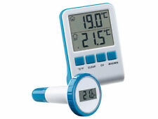 Funk-Poolthermometer Teichthermometer Wasserthermometer Digital inkl. Batterien