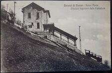 1910 - Varese - Sacro Monte - Stazione superiore della Funicolare
