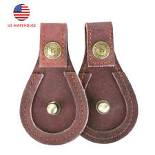Tourbon 2 Pack Brown Leather Toe Pad Shoes Protector Gun Barrel Rest Pads in Us