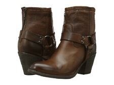 New in Box Womens  Frye Tabitha Harness Short Boot Cognac Size 7 MSRP $  328