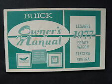 Buick Lesabre Estate Wagon US-Betriebsanleitung / operation manual 1977