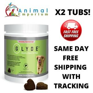 Glyde Mobility Powder for dogs TWO TUBS 360g Each Improve Arthritis Joint Health