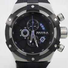 BRERA OROLOGI Supersportivo BRSSC4901 Mens Quartz Chronograph 100M SS Black