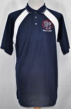 COUNTRY DANCE WORLD CHAMPIONSHIP WORLD'S 2007 Logo Polo Shirt Navy Blue Lg NEW