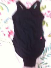 Manuka Swimwear Black New Swimming Costume Swimsuit Size S UK 10