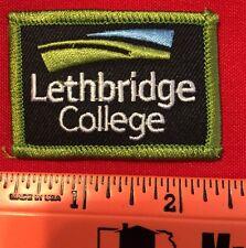 "Patch Lethbridge College Kodiaks Alberta Canada Bear 2 1/4 X 1 5/8"""