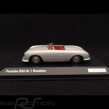 Porsche 356 n° 1 Roadster 1948 gris argent 1/43 Minichamps WAP0207900K