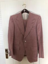 Tom Ford Peak Lapel Suit in Pink [Size IT 48R] [New w/ Tags] Base T Fit