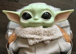 "NEW Star Wars Mandalorian The Child Baby Yoda Mattel 11"" Plush Doll *READ*"