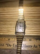 Antique Men's Watch - GRANT - Dress Lugs Sterling Silver Back. Running