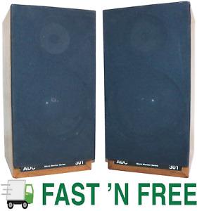 🎼  Audio Dynamics Corp. (ADC) 301 Micro Monitor Series Bookshelf Speakers Pair