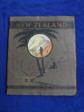 NEW ZEALAND BOOK PARADISE OF THE PACIFIC GOVERNMENT PUBLICITY OFFICE 1927 RARE!!