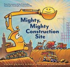 Mighty, Mighty Construction Site by Sherri Duskey Rinker (2017, Picture Book)