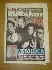 MELODY MAKER 1996 OCT 12 METALLICA BLUETONES SUEDE REM