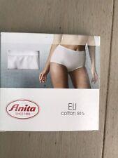 New Anita Eli High Waist Brief White Cotton Size 20 Underwear Knickers £17