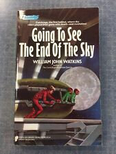 1986 GOING TO SEE THE END OF THE SKY paperback 1st PRINT!Watkins RICHARD CORBEN!