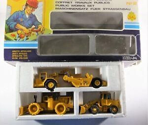 JOAL Public Works Set 2 Caterpillar CAT 825B 920 Wheel Loader Kat 6310 Tractor