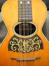 Vintage 1900's Howe-Orme mandolinetto mandolin-Guitar shaped body, arch top