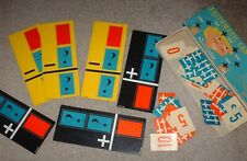 Antique Learning Game â—� Arithmetic Can Be Fun â—� Ed-U-Cards â—� 1959