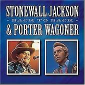 Back To Back, Jackson, Stonewall, Very Good CD