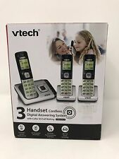 VTech CS6729-3 DECT 6.0 3 Handset Cordless Phone With Digital Answering Machine