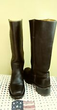Frye Melissa Riding  Boots Brown Size 6.5  re $388. Made in the USA.  Pristine