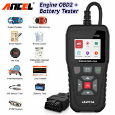 Car OBD OBDII Code Reader Auto Engine Light Check Diagnostic O2 EVAP I/M Scanner