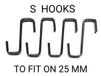 MARKET STALL EXTRA STRONG THICK DISPLAY S HOOKS (50x PIECES)
