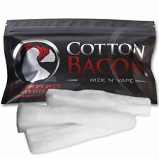NEW Cotton Bacon V2 Version 2.0 By Wick 'N' Vape Organic Wicking Material W