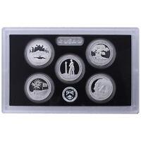 2013 S Proof Parks Quarter Set ATB 90% Silver No Box or COA 5 Coins US Mint