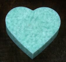 100hr LAVENDER & BLUE GUM EUCALYPTUS Huge Love Heart OIL BURNER HUGE CANDLE MELT