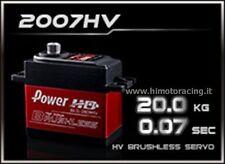 SERVO DIGITALE BRUSHLESS POWER Hd (High Voltage ) BLS-2007HV 20kg 0.007sec