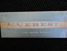 EVEREST SERIE SPECIAL SILVER ROAD BICYCLE CHAIN NOS NIB ITALIAN REGINA 70'S 80'S