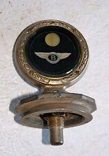 Vintage Antique Bentley Motometer Radiator Cap Mascot 1919 1920 1921 1922 1923