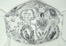 Medium size Carson, Leavitt, Piscopia, Hypatia reversible mask